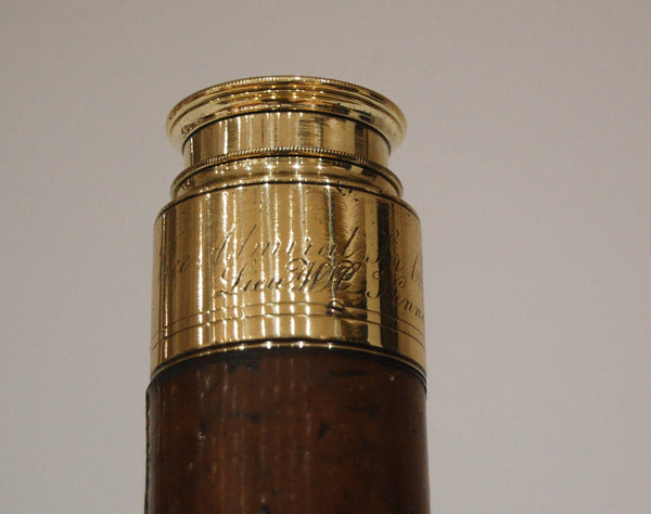 Vice-Admiral Sir Charles Paget's Marine Telescope by George Stebbing of Portsmouth
