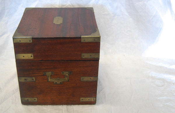 Early Nineteenth Century Campaign Travelling Apothecary Box
