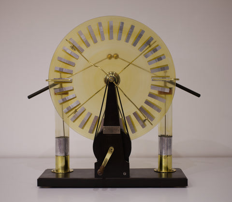 Late Victorian Wimshurst Machine by Victor Morlot-Maury of Paris