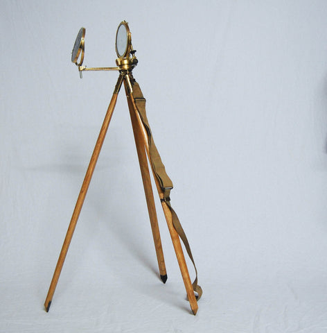 World War II Period Mark V Military Heliograph with Original Case & Tripod