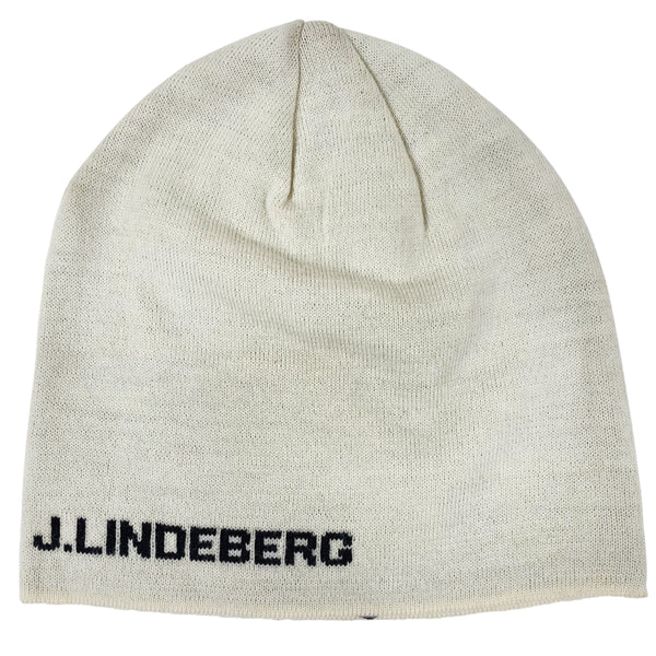 J Lindeberg Men's Aello Hat AELLO BASE - EGGSHELL