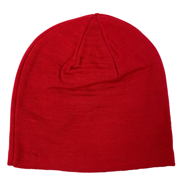 J Lindeberg Men's Aello Hat Merino Wool - RED INTENSE
