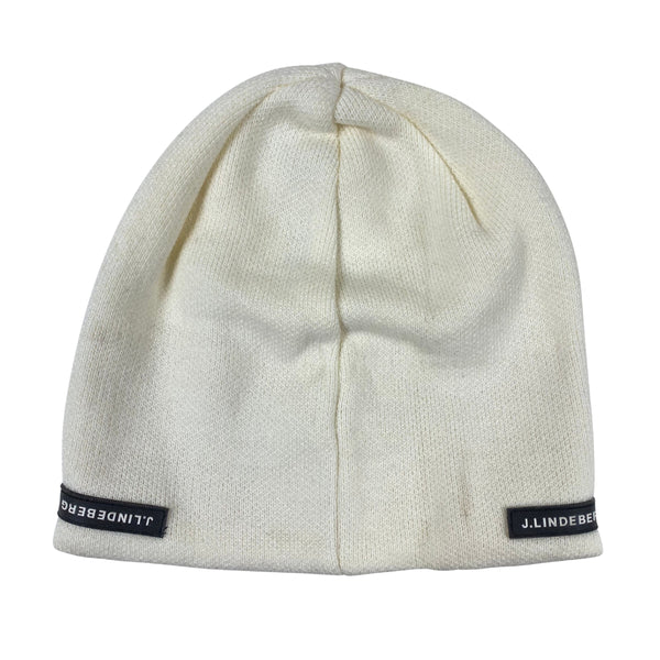 J Lindeberg Men's Vail Hat Wool Blend - WHITE