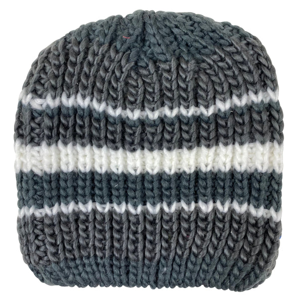 J Lindeberg Men's Heavy Knit Hat Knit - DARK GREY