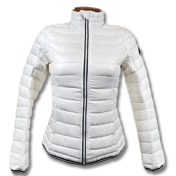 J Lindeberg Women's W Lightspeed Sweater Pertex Re Jacket - WHITE