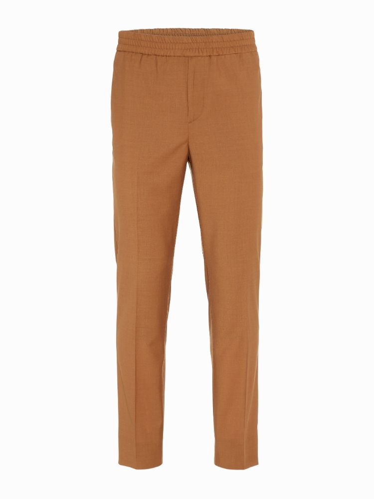 J Lindeberg Men's Billionaire Italian Wool Stretch Athleisure Dress Pants - GLAZED GINGER