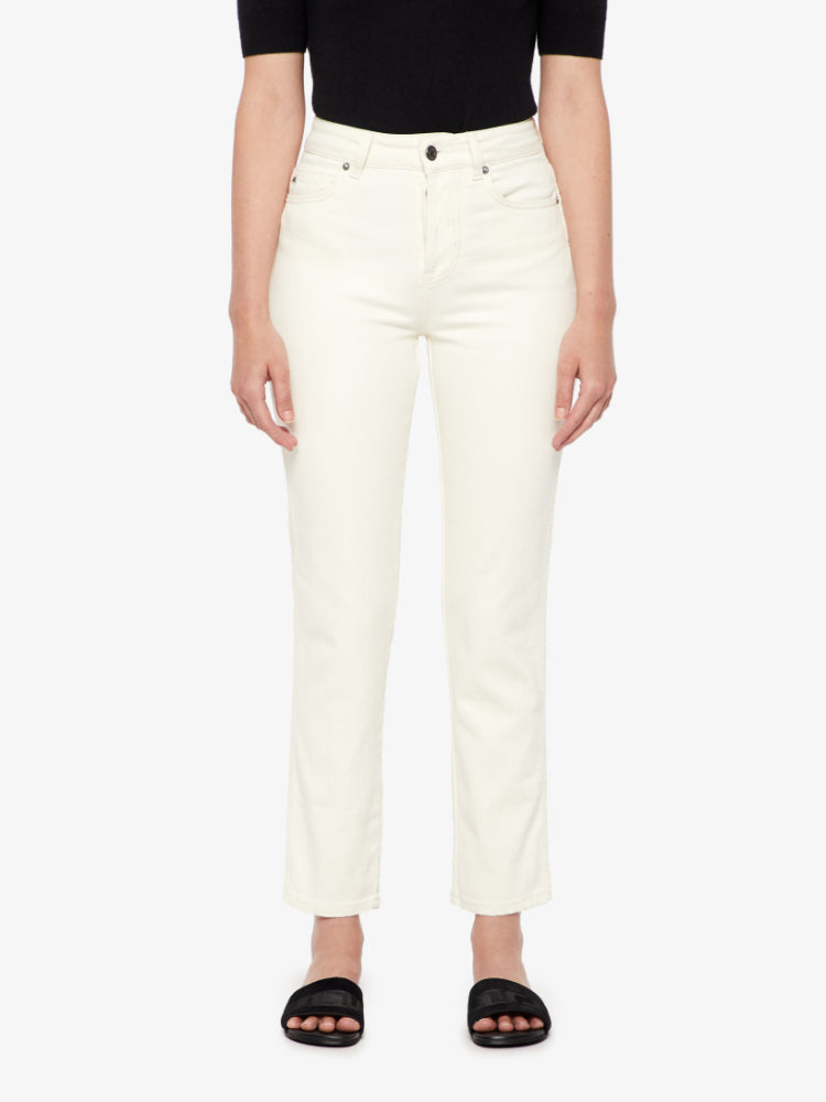 J Lindeberg Women's Study Ceed Jeans - WHITE