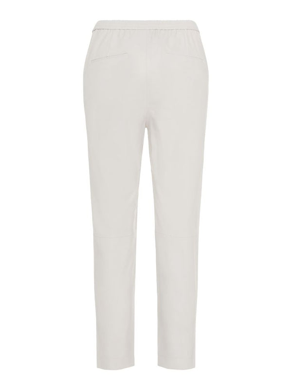 J.LINDEBERG Women's Sonnet Sporty Leather Pants - Grey