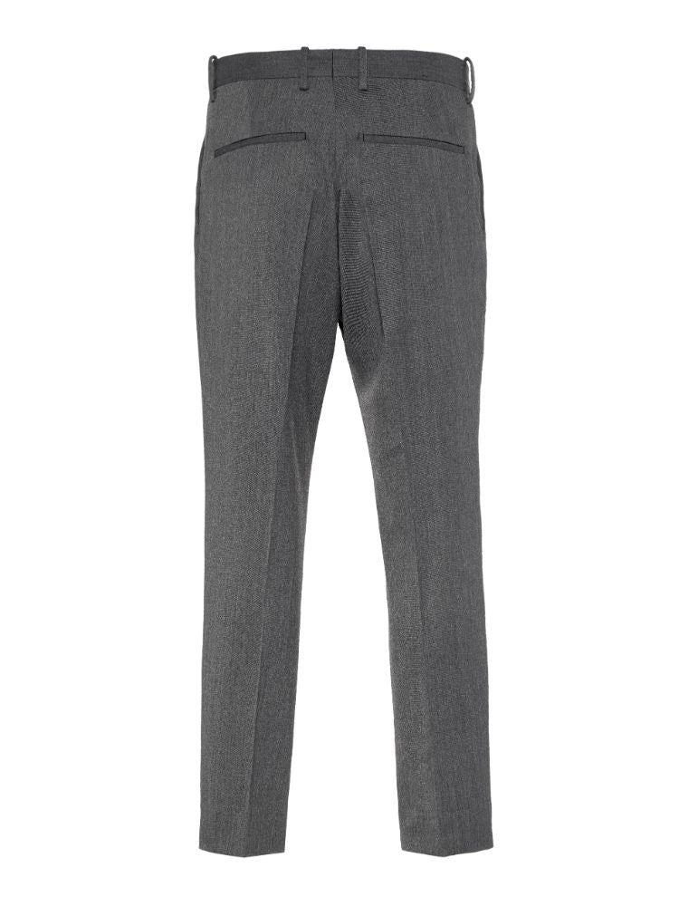J Lindeberg Men's Mike Wool Twill Pants - DARK GREY