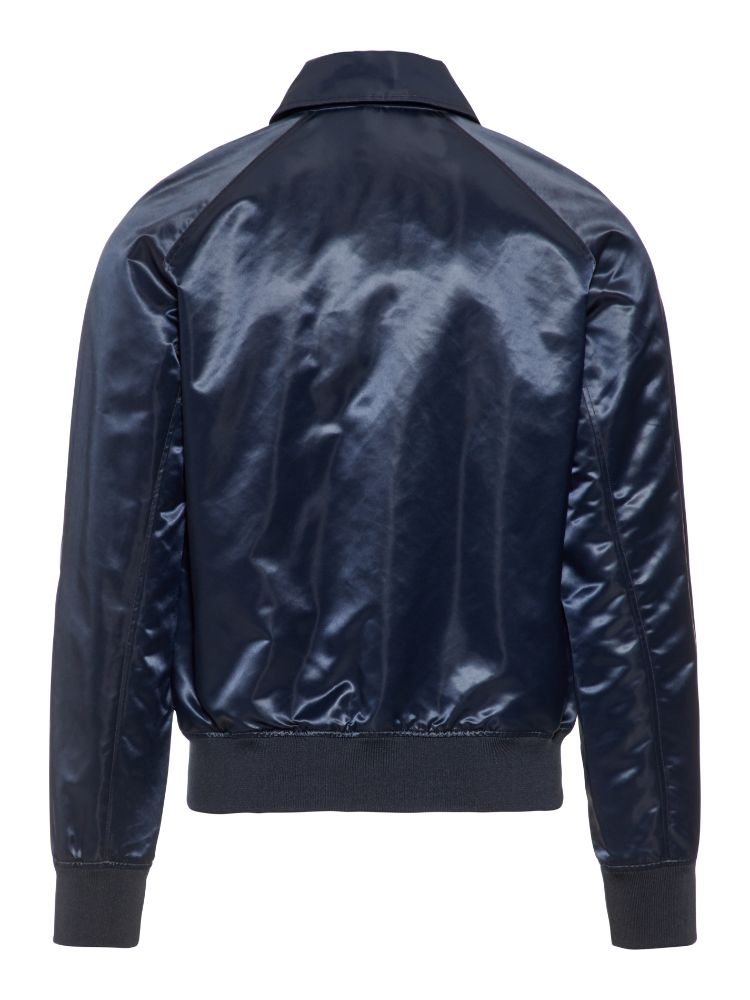 J Lindeberg Men's Marc Satin Nylon Jacket - JL NAVY