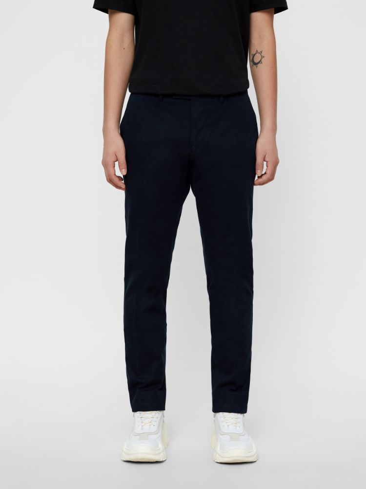 J Lindeberg Men's Grant Canvas Trousers - JL NAVY