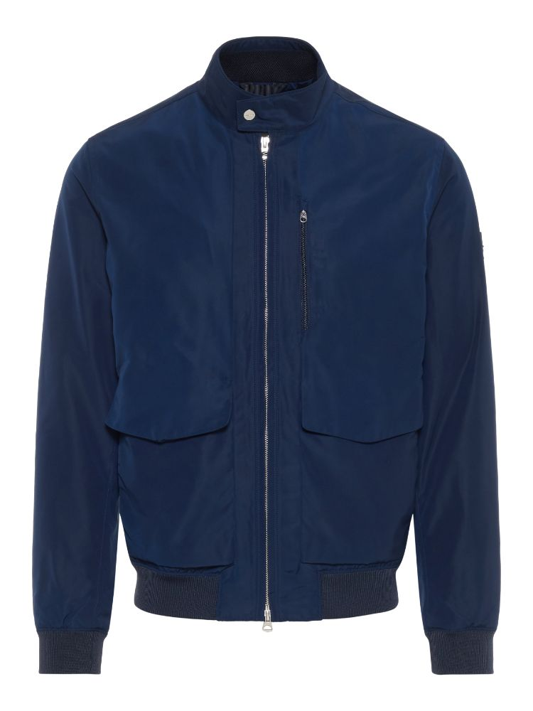 J Lindeberg Men's M Traver Memo Poly Jacket - JL NAVY