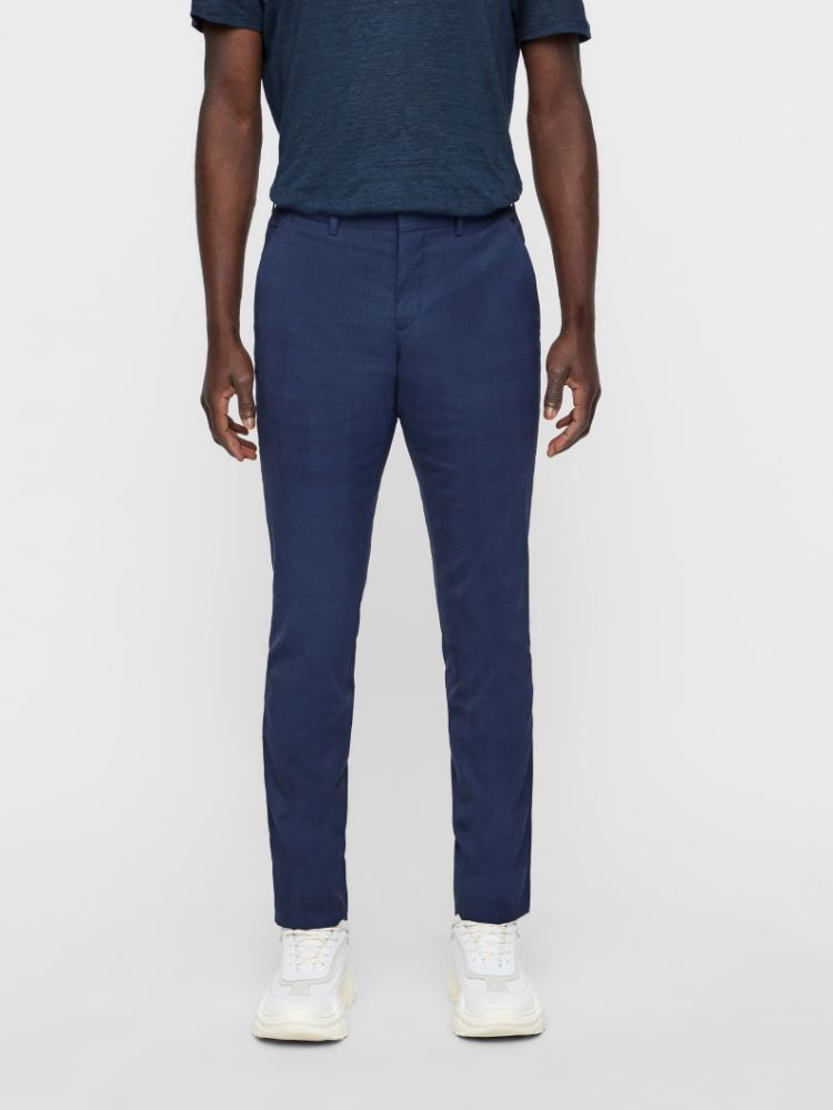 J Lindeberg Men's Paulie Legend Tech Trousers - MID BLUE