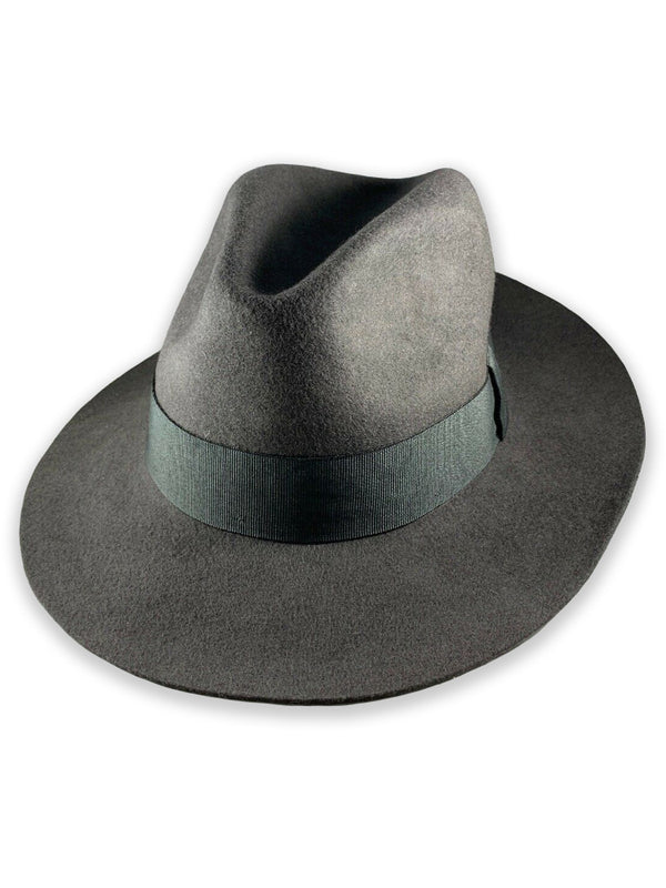 J Lindeberg Men's Italian 100% Wool Fedora - GREY