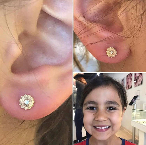 Children's Ear Piercings