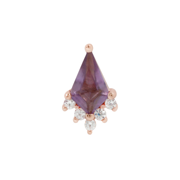Rose gold Noble Amethyst jewelry