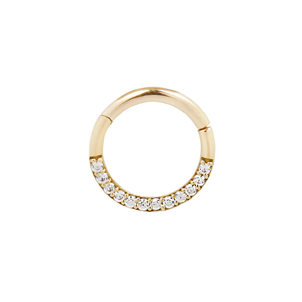 Genuine Diamond Septum Ring