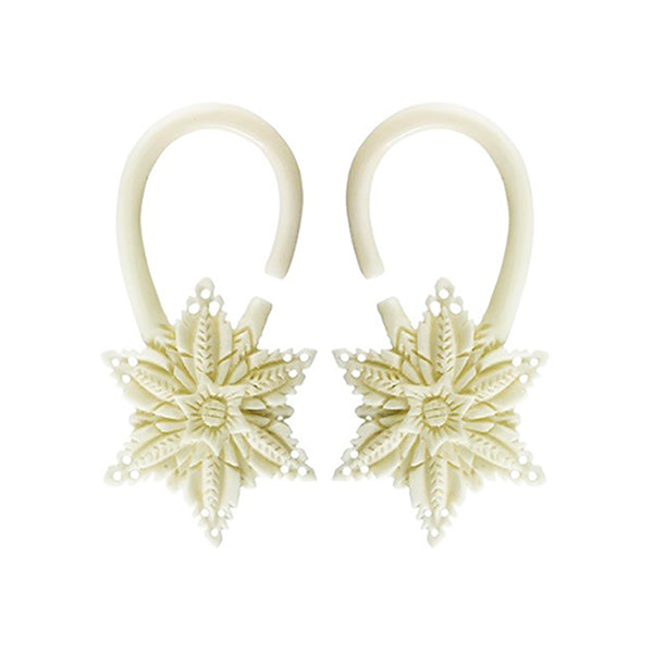 Organic Bone Earrings