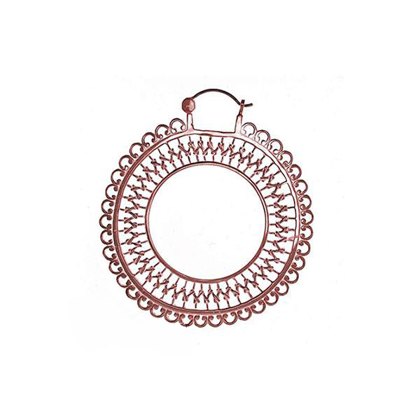 Tawapa Lace Hoop Plated Rose Gold 16g