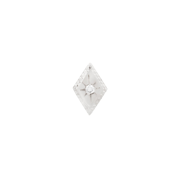 White gold Etoile diamond by Buddha Jewelry