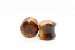 Tiger eye plugs