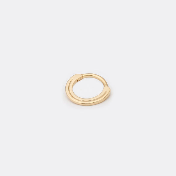 Yellow gold halo clicker