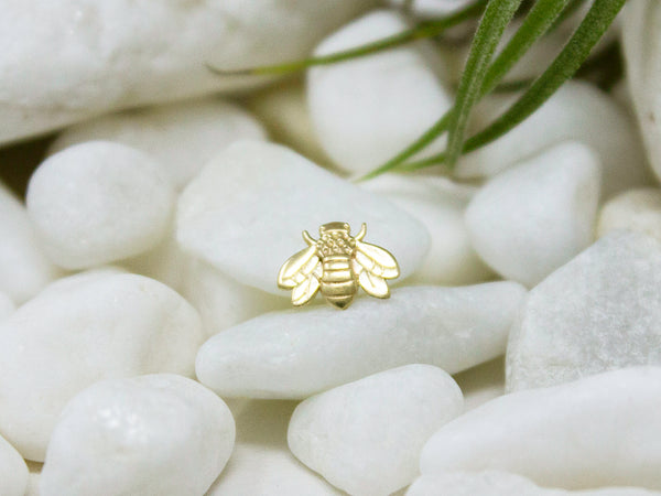 Yellow gold bumble bee