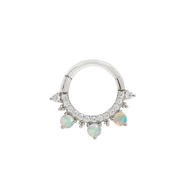 Opal Septum Ring
