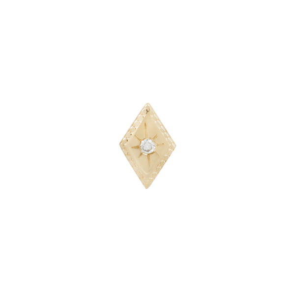 Yellow gold Etoile diamond by Buddha Jewelry