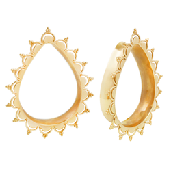 Teardrop Eyelets for Stretched Ears