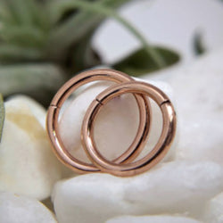 LeRoi Clicker Plain Rose Gold 16g