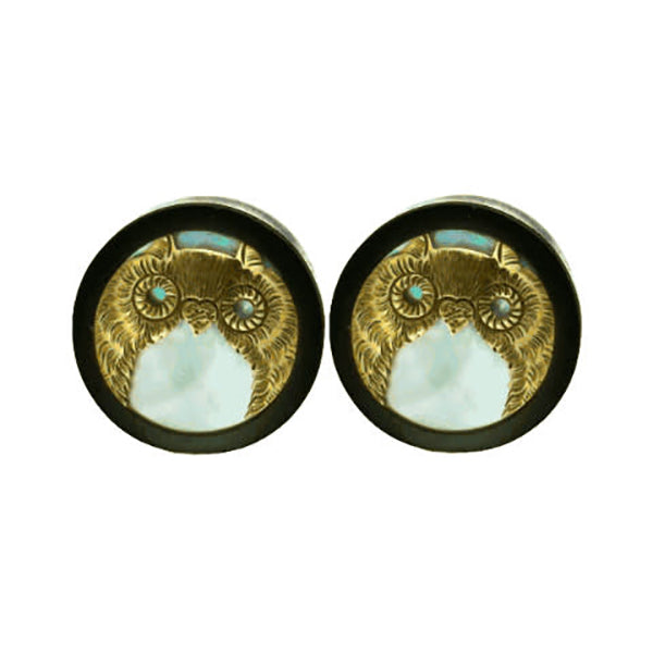 Owl Plugs for Stretched Ears