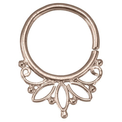 Rose Gold Septum Ring