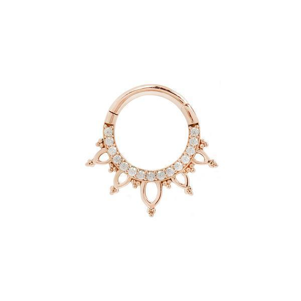 Rose gold clicker jewelry