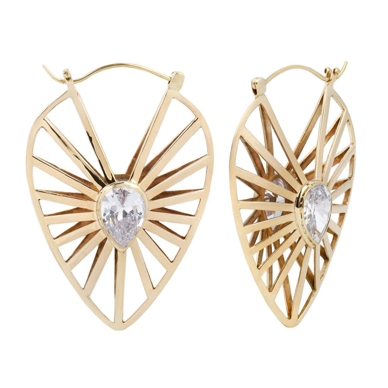 Cool Brass Earrings