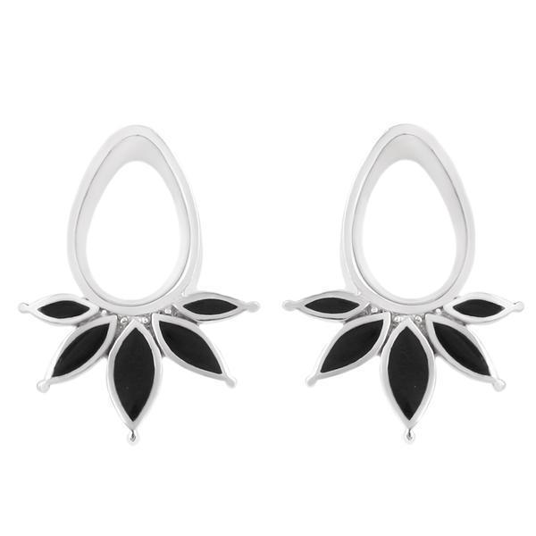 Teardrop Eyelets with Onyx Inlay