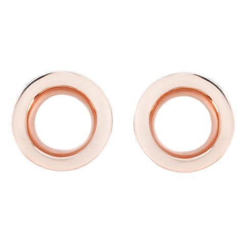 Fine Metal Round Eyelets for Stretched Ears