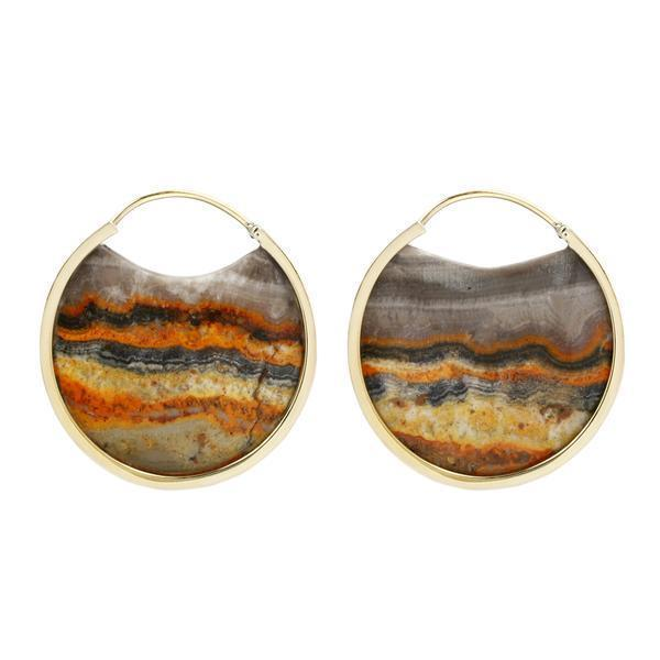 Bumble Bee Jasper Earrings