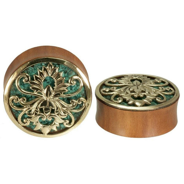 Turquoise Plugs for Stretched Ears