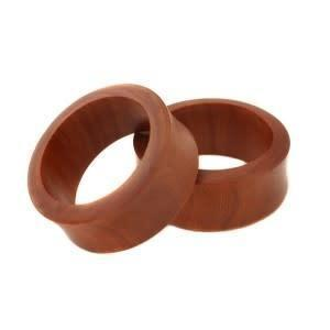 Organic Wood Eyelet for Stretched Ears