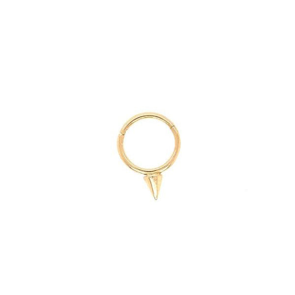 Maria Tash Single Spike Clicker Yellow Gold 18g 5/16''