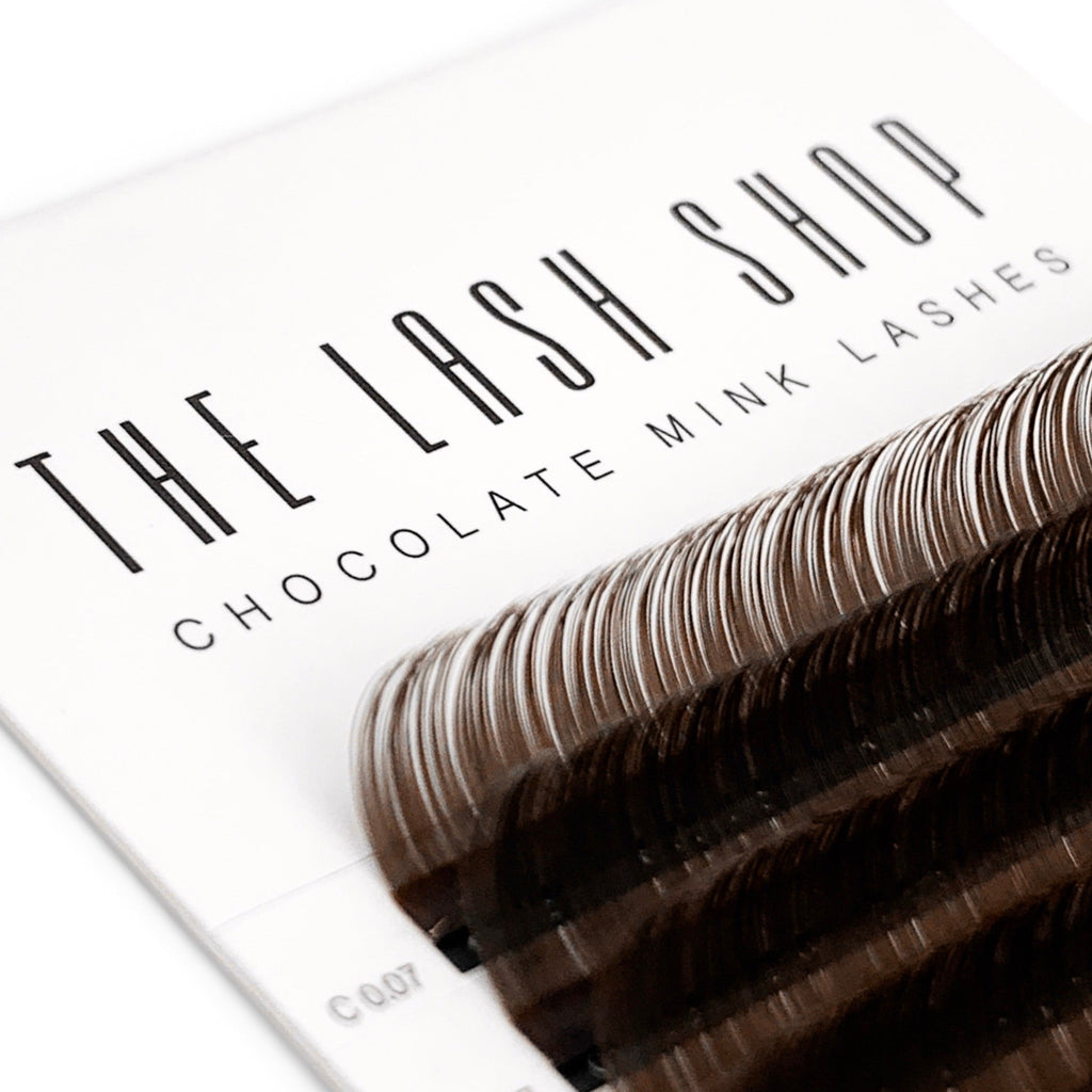Chocolate Mink Lashes 0.07mm