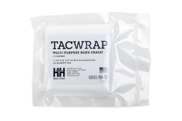 H&H Med Corp - TACWrap™ Multi-Purpose Burn Cravat