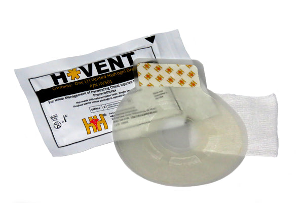 H&H Med Corp - H*VENT Laminar Vented Chest Dressing