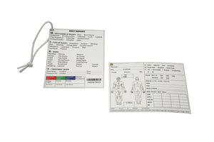 Tactical Casualty Care Cards (Pack of 10)