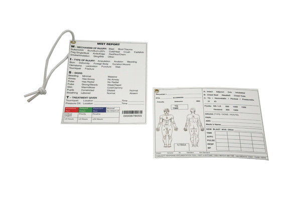 H&H Med Corp - Tactical Casualty Care Cards