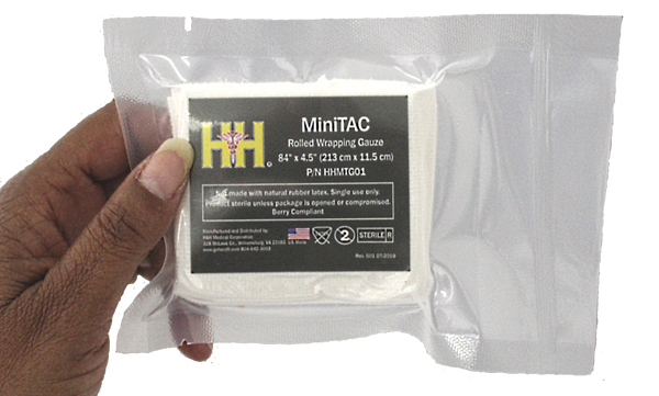 H&H Med Corp - MiniTAC Rolled Wrapping Gauze