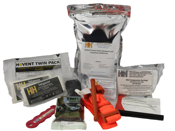 H&H Med Corp - School Trauma Active Response and Treatment (START) Kit