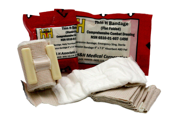 H&H Med Corp - Thin H Bandage Compression Dressing