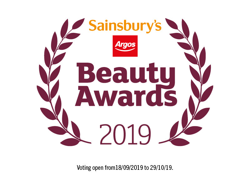 Sainsbury's Beauty Awards 2019 - We've been shortlisted!